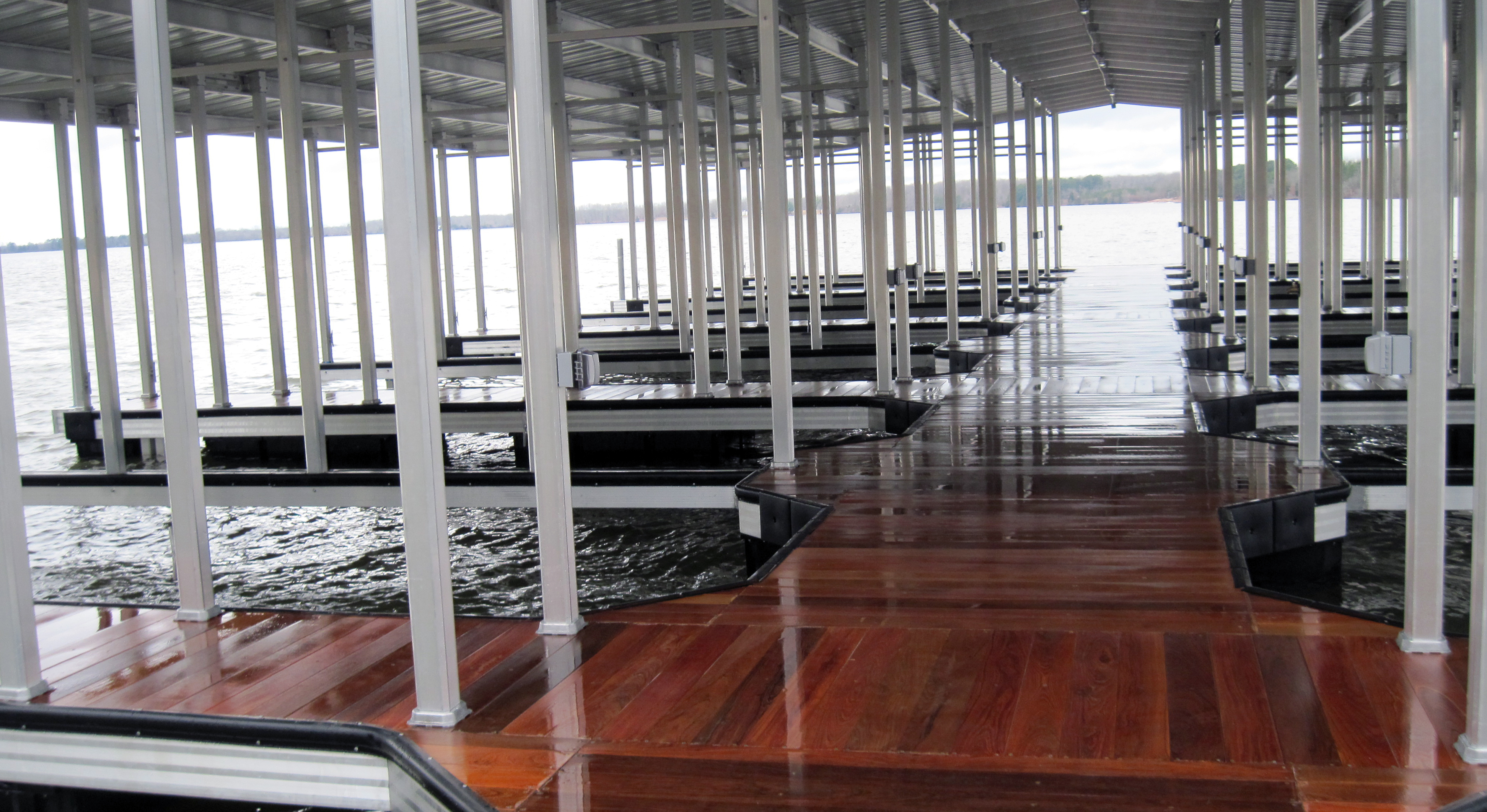 Arnold AFB Government Dock Commercial Dock 6
