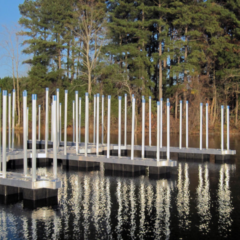 Arnold AFB Government Dock Commercial Dock 16