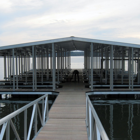 Arnold AFB Government Dock Commercial Dock 10