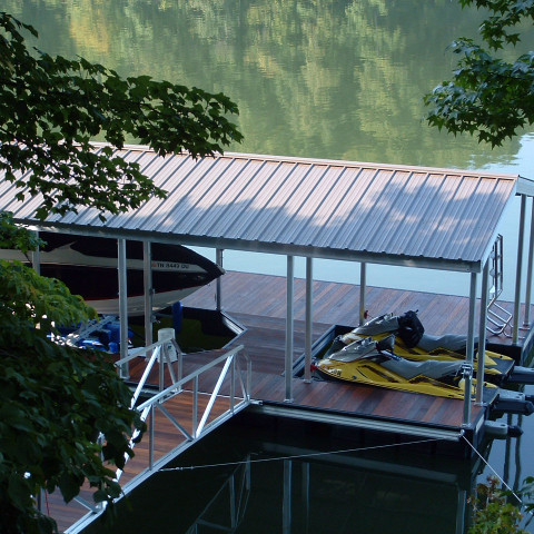 Connie Side Slip Dock Gable Roof 2